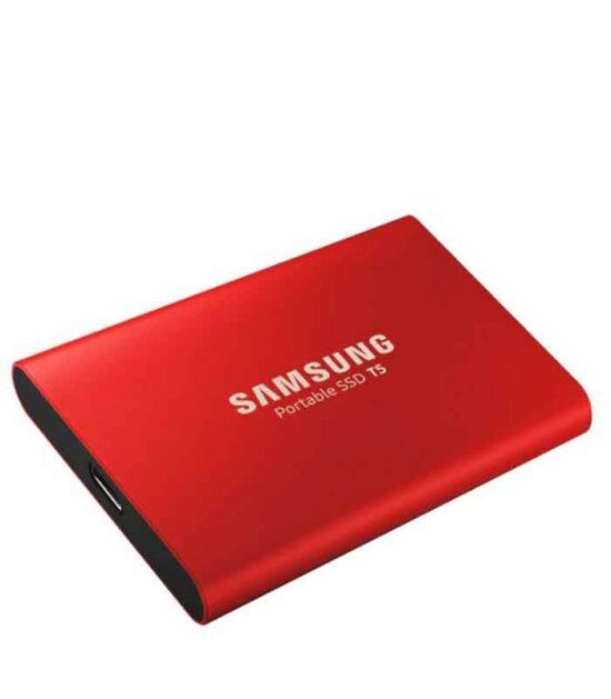 SAMSUNG Portable T5 1TB crveni eksterni SSD MU-PA1T0R