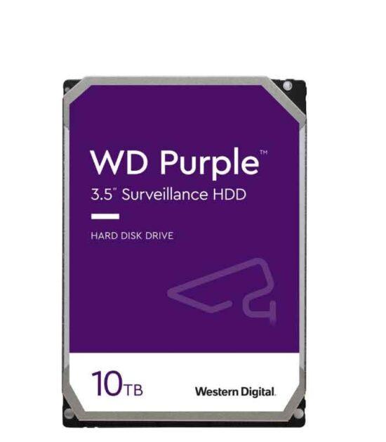 WD 10TB 3.5 SATA III 256MB 7.200 WD102PURZ Purple