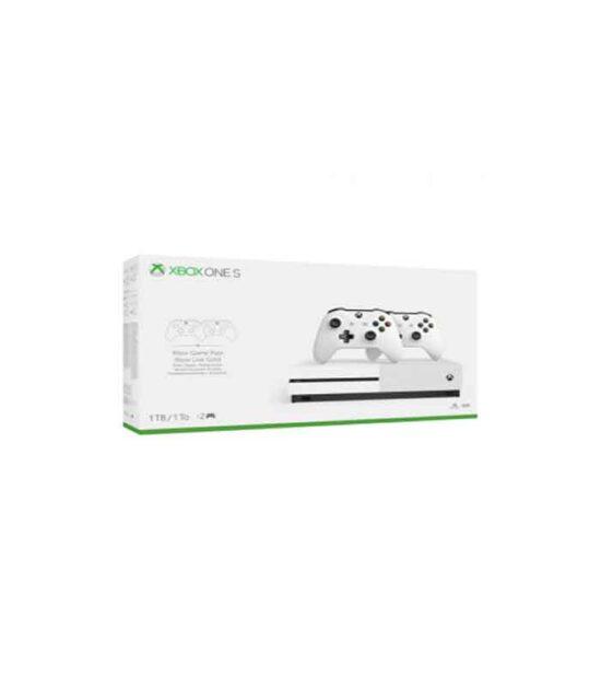 XBOXONE S Console 1TB White + Extra Controller
