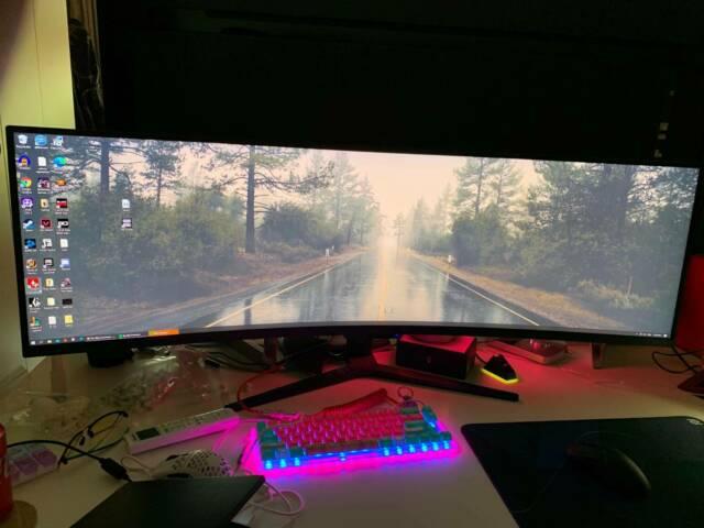 ACER 49 EI491CR P LED zakrivljeni monitor