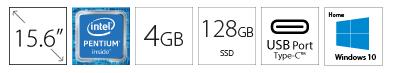 HP 15-DW1083 15.6 Pentium G6405U 4GB