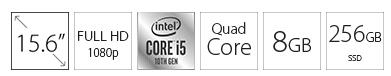 ACER Extensa EX215 15.6 FHD i5-1035G1 8GB 256GB SSD crni