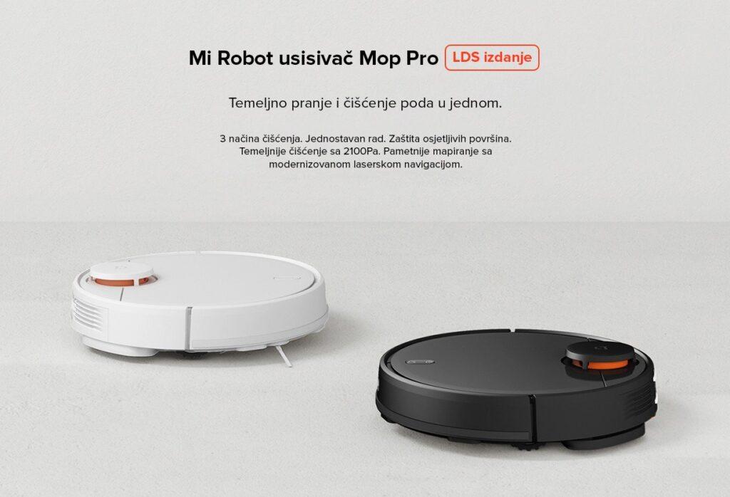 Xiaomi Mi Robot usisivač Mop Pro