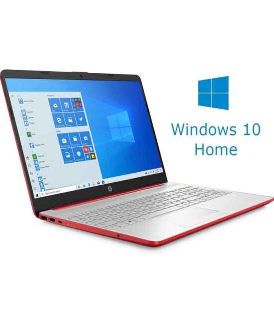HP 15-DW1083 15.6 Pentium G6405U 4GB 128GB SSD Win10Home crveni