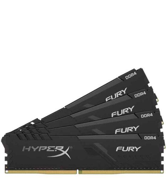KINGSTON DIMM DDR4 128GB (4x32GB kit) 3200MHz HX432C16FB3K4/128 HyperX Fury Black