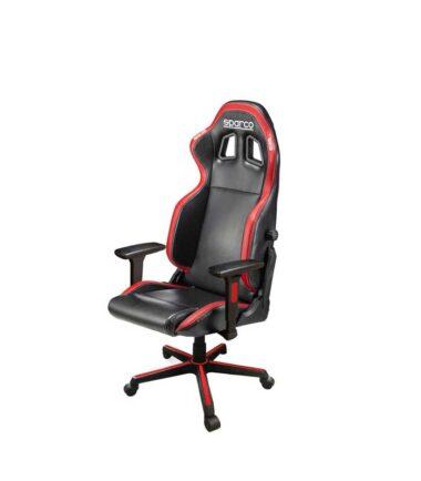 ICON Gaming poslovna stolica crno crvena