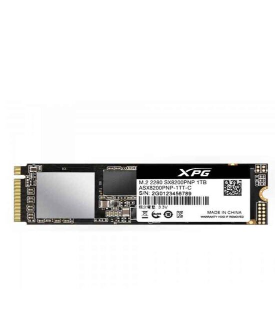 A-DATA 1TB M.2 PCIe Gen 3 x4 NVMe ASX8200PNP-1TT-C SSD