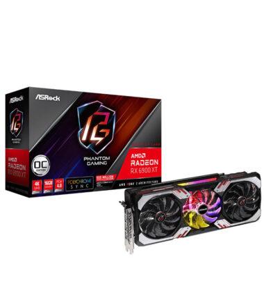 ASROCK AMD Radeon RX 6900 XT Phantom Gaming D 16G OC