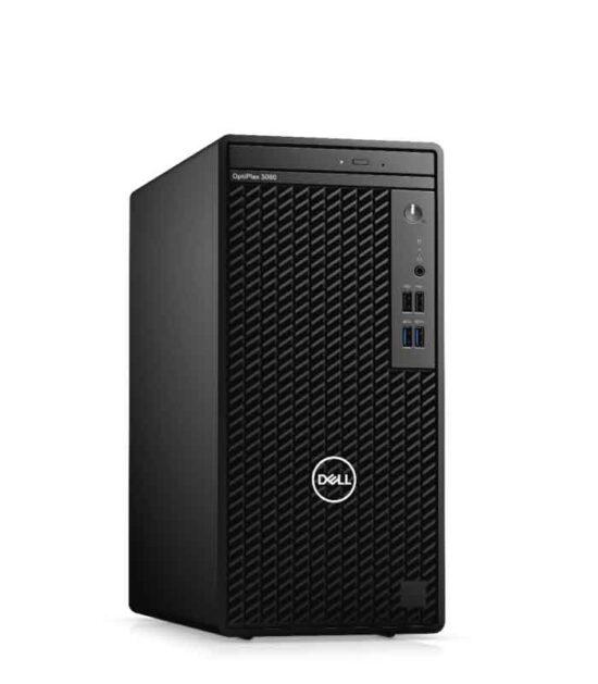 DELL OptiPlex 3080 MT i3-10100 8GB 256GB SSD DVDRW Ubuntu 3yr NBD