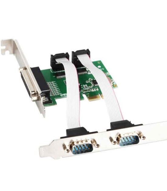 E-GREEN PCI Express kontroler 2xSerial + 1 Parallel