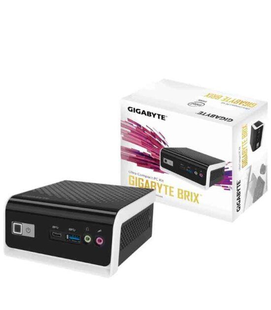 GIGABYTE GB-BLCE-4000C BRIX Mini PC Intel Dual Core N4000 1.1GHz (2.6 GHz) 4GB 240GB