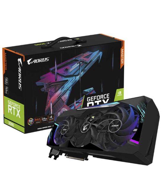 GIGABYTE nVidia GeForce RTX 3090 24GB 384bit GV-N3090AORUS M-24GD