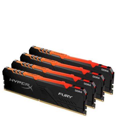 KINGSTON DIMM DDR4 128GB (4x32GB kit) 3200MHz HyperX Fury RGB
