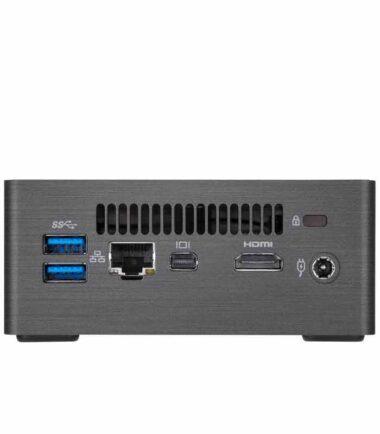 GIGABYTE GB-BLCE-4105 BRIX Mini PC Intel Quad Core J4105 1.50 GHz(2.50 GHz) 8GB 240GB