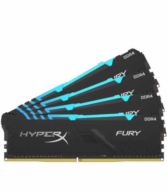 KINGSTON DIMM DDR4 128GB (4x32GB kit)3600MHz HyperX FURY RGB