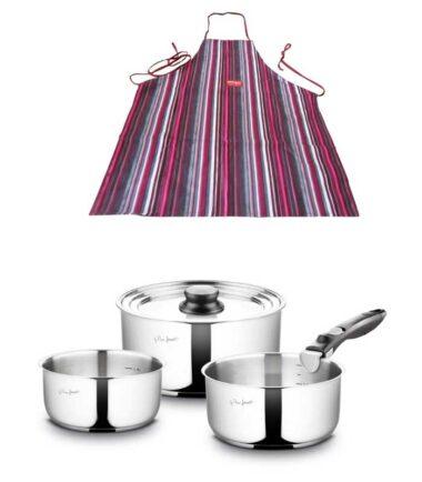 LAMART kuhinjska kecelja + set posudja