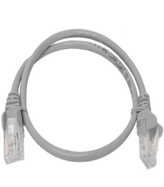 E-GREEN Kabl UTP patch Cat5e 0.5m sivi