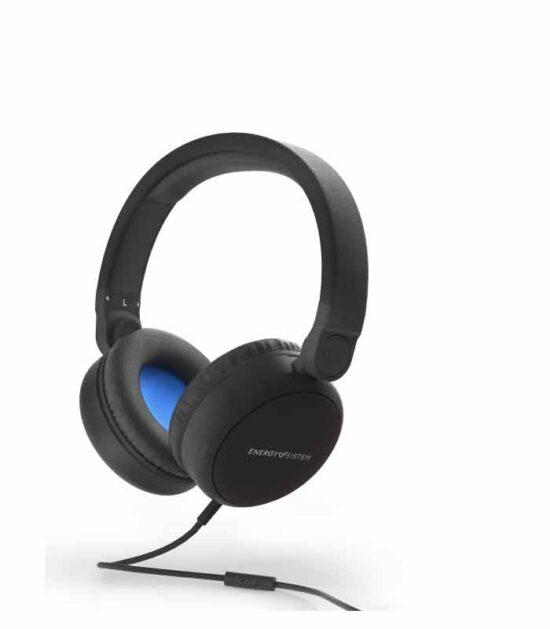 ENERGY SISTEM Style 1 Talk crne slušalice sa mikrofonom