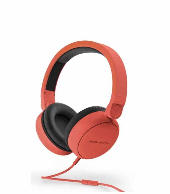 ENERGY SISTEM Style 1 Talk crvene slušalice sa mikrofonom