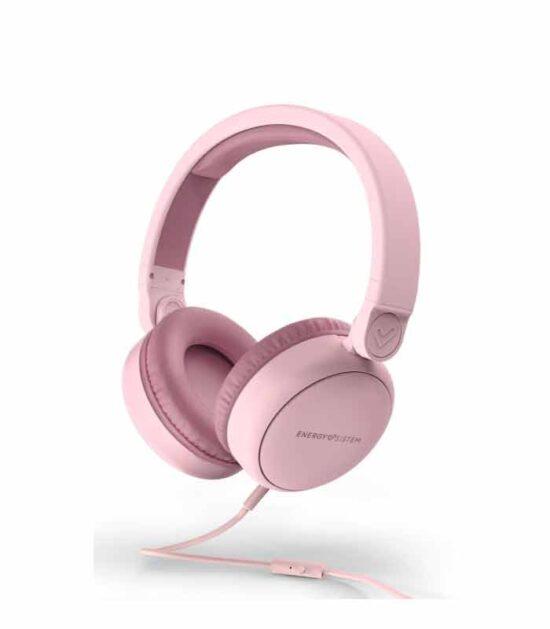 ENERGY SISTEM Style 1 Talk roze slušalice sa mikrofonom