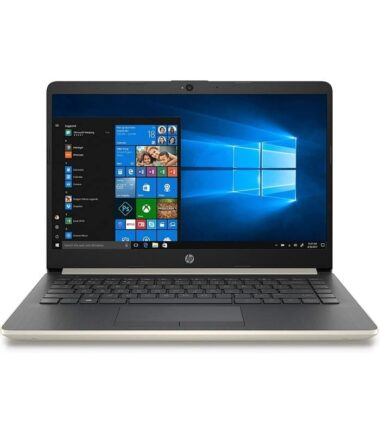 HP 14-DQ0003 14 Celeron N4020 4GB 64GB Win10Home zlatni