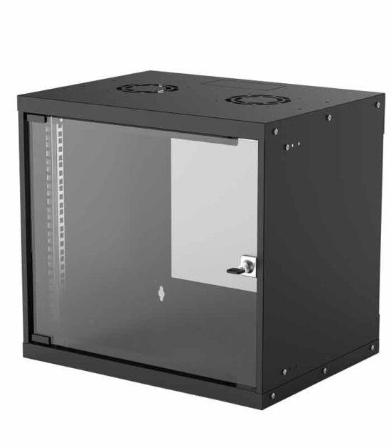 INTELLINET Wallmount Cabinet 9U Rek orman 19 400d crni
