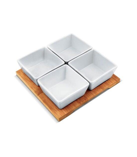 Set porcelanskih posuda - kocka