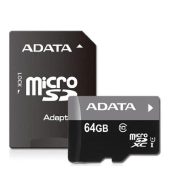 A-DATA UHS-I MicroSDXC 64GB class 10 + adapter
