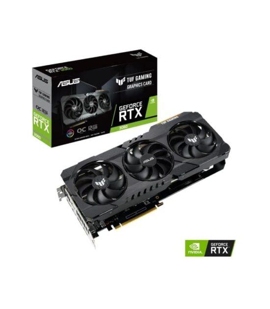 ASUS nVidia GeForce RTX 3060 12GB 192bit TUF-RTX3060-O12G-GAMING