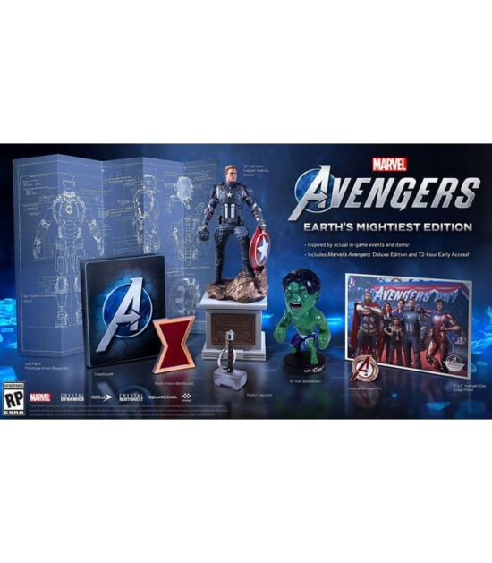 PS4 Marvel's Avengers - Earth's Mightiest Edition
