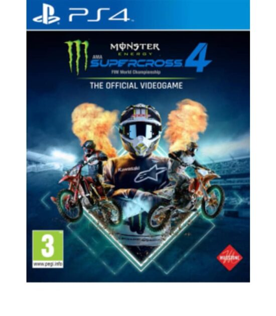 PS4 Monster Energy Supercross - The Official Videogame 4