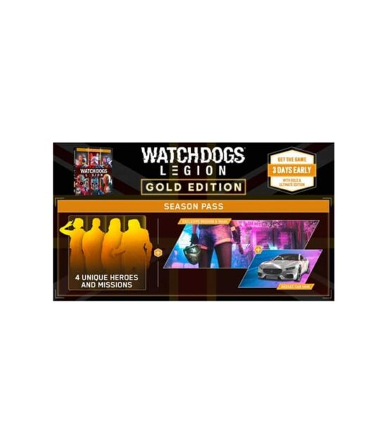 PS4 Watch Dogs: Legion - Gold Edition