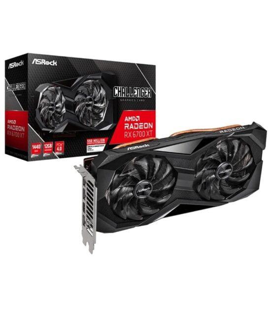 ASROCK AMD Radeon RX 6700 XT 12GB 192bit RX 6700 XT Challenger D 12G