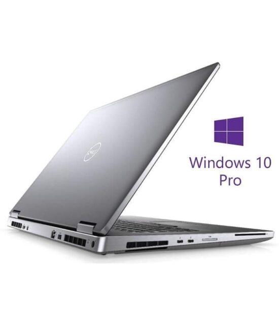DELL Precision M7740 17.3 4K i7-9850H 32GB 1TB SSD Quadro RTX 4000 8GB Backlit SC Win10Pro