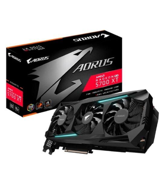 GIGABYTE AMD Radeon AORUS RX 5700 XT 8G 8GB 256bit GV-R57XTAORUS-8GD rev.2.0