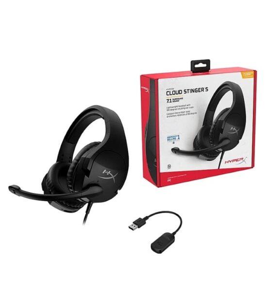 KINGSTON HHSS1S-AA-BK/G HyperX Cloud Stinger S 7.1 Gaming slušalice sa mikrofonom