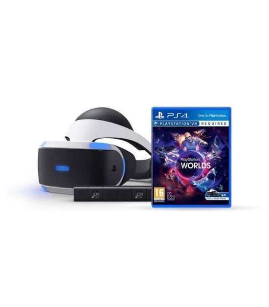 PS4 Virtual Reality + Camera + VR Worlds