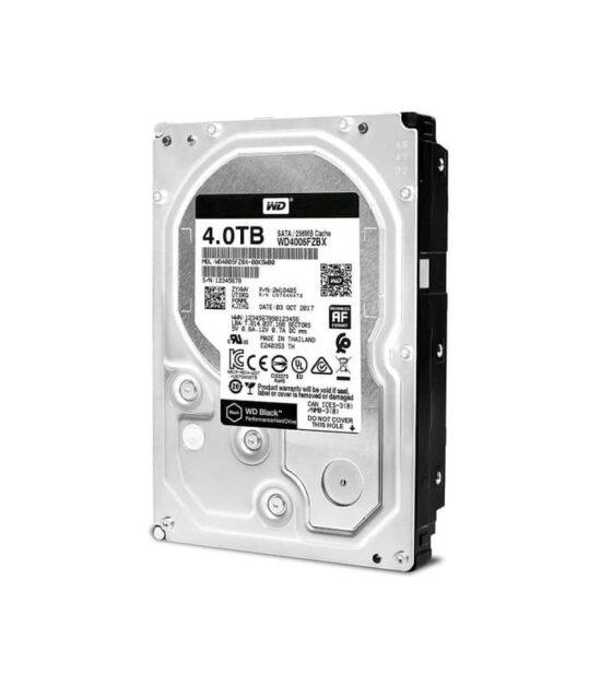 WD 4TB 3.5 SATA III 256MB 7.200rpm WD4005FZBX Black