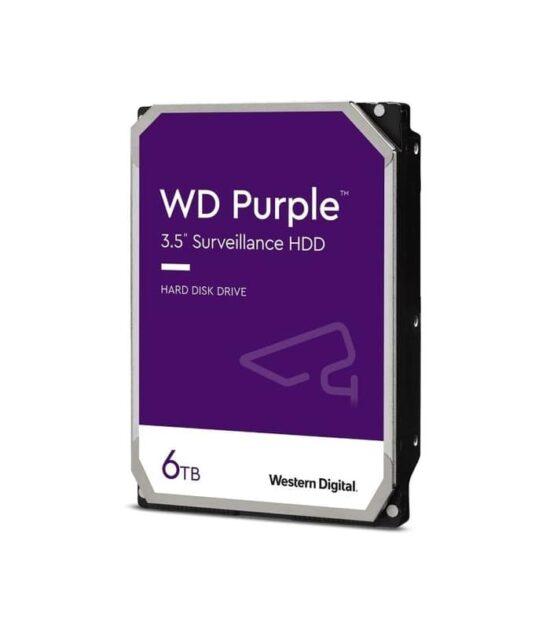 WD 6TB 3.5 SATA III 128MB IntelliPower WD62PURZ Purple