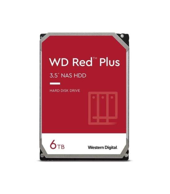 WD 6TB 3.5 SATA III 128MB WD60EFZX Red Plus