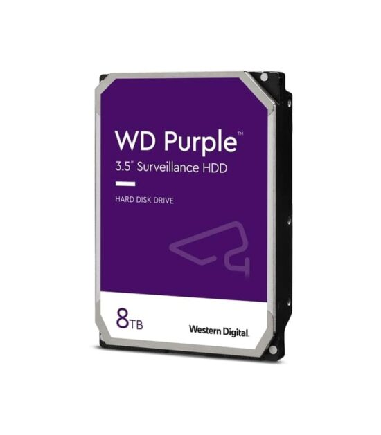 WD 8TB 3.5 SATA III 256MB IntelliPower WD82PURZ Purple