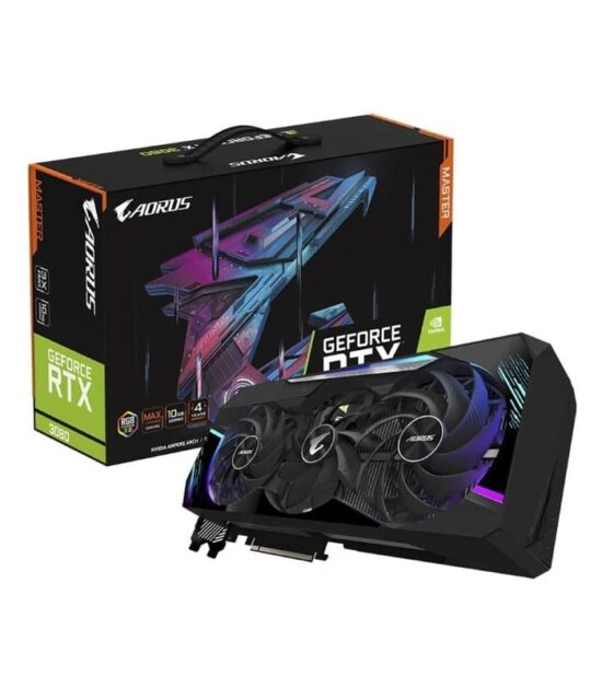GIGABYTE nVidia GeForce RTX 3080 10GB 320bit GV-N3080AORUS M-10GD rev 3.0