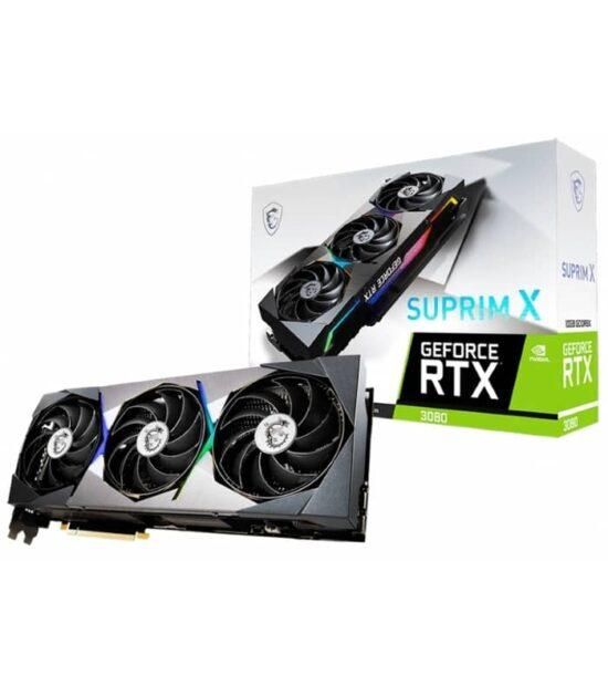 MSI nVidia GeForce RTX 3080 10GB 320bit RTX 3080 SUPRIM X 10G